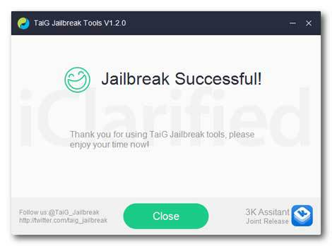 شرح كيفية عمل جيلبريك TaiG للإصدار 8.1.2. coobra.net