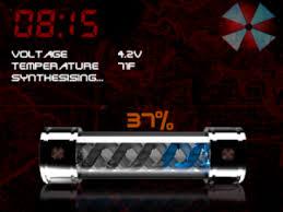 رنامج لتخزين الشحن T-Virus Is Ready! a COOL battery charging screensave للبلاك بيري coobra.net