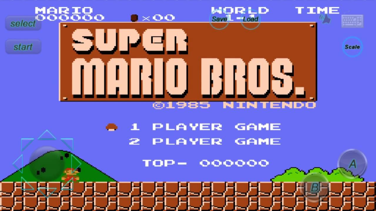تحميل لعبة super mario bros للاندرويد